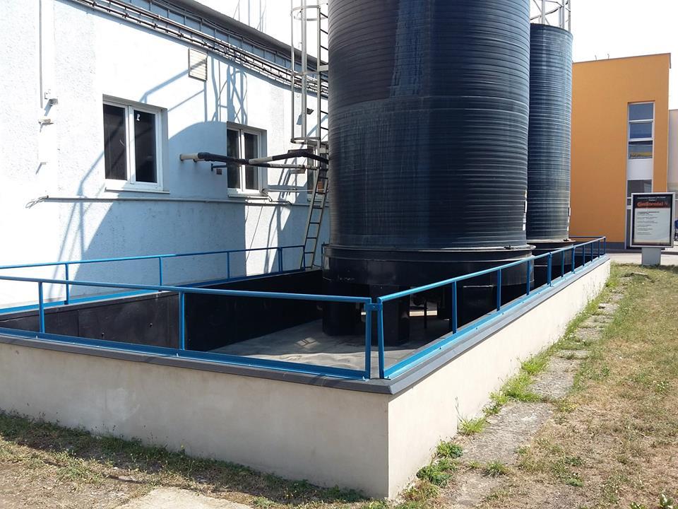 Havarijski rezervoari HCl